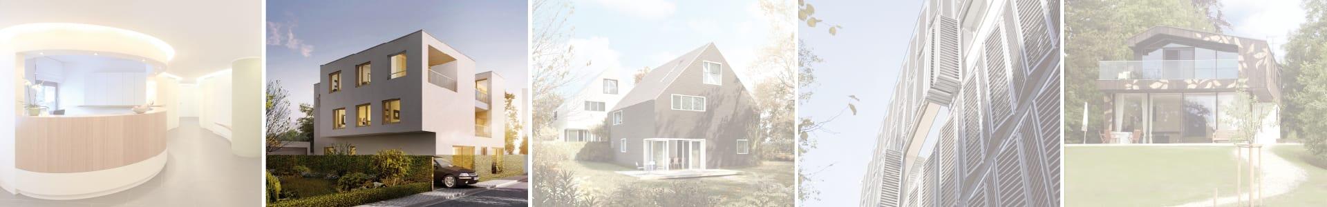 Planung Realisierung Mehrfamilienhaus in Dachau durch KR Häuser GmbH
