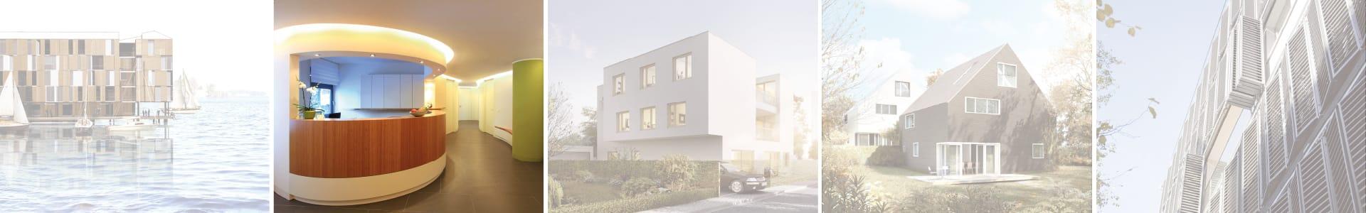 Innengestaltung Architektur einer Arztpraxis mit KR Häuser GmbH