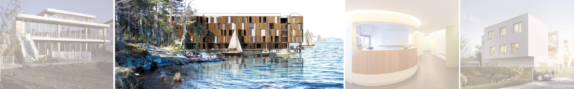Architekten-Wetbewerb Finnland KR Häuserbau GmbH